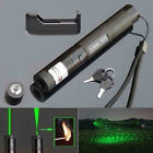 10Miles 532nm 303 Green Laser Pointer Lazer Pen Visible Beam Light+Charger