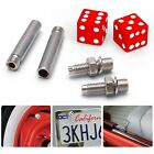Red Dice 2 Valve Cap, Door Plunger, Plate Bolt Combo Kit amp racing camper 427