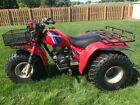 1984 Honda ATC 200es Big Red Three Wheeler w/Speedometer and Extras