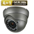Full 1080P AHD TVI CVI CVBS Ture 2.6MP Analog 4 in1 OSD Menu Security Camera