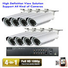 8CH HDMI DVR 1080P 4-in-1 2.6MP 2.8-12mm Varifocal Le7^6s Security Camera System