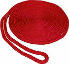"3/8""x15' Red Double Braid Dock Line"