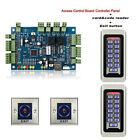 New TCP/IP Door Access Control Panel+Exit Switch+Wiegand RFID Card+Code Reader