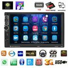 7'' 2 DIN Android 6.0 MP5 Player 3G WIFI Bluetooth GPS Nav Car Radio Stereo US