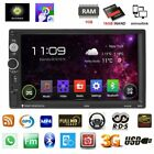 """7"""" Android 6.0 Car Radio Stereo Quad Core 3G WIFI Double 2DIN MP5 Player GPS AK3"""