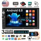 """Quad Core Android 6.0 3G WIFI 7"""" Double 2DIN Car Radio Stereo MP5 Player GPS AK2"""