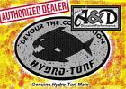Custom Hydro-Turf Sheet BLUE camo Boating Carpet cut Diamond 37X58 sht40cd