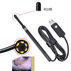5.5mm Endoscope USB Waterproof Borescope Ear Spoon Inspect Camera For PC&Android