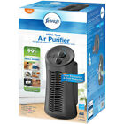Febreze Mini Tower Air Purifier Gray Breathe Easier 3 Levels Eliminate Oder