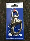 "Wichard 3-1/2"" Snap Shackle With Swivel Eye - 2475 . BRAND NEW."