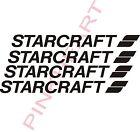 """Starcraft Decals 4 SM RV sticker decal graphics trailer camper rv 14.5""""  USA"""
