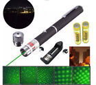 Military 5MW High-Powered Green Laser Pointe Pen Lazer 532nm Visible Beam Light
