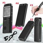 Rechargeable 16/8GB Digital Audio Voice Recorder Dictaphone Telephone MP3 Player