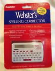 Webster's Spelling Corrector NCS-100 New Sealed Condition