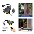 Dewenwils Outdoor Wireless Remote Control Outlet Kit, Weatherproof Electrical In