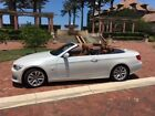 2013 BMW 3-Series Convertable 2013 BMW 328I Power Hard Top Convertable, Minerial White/Saddle Leather