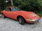 1971 Opel 1900 GT 1971 OPEL GT NEEDS RESTORATION RARE AUTOMATIC MAKE OFFER