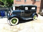 1931 Ford Model A Deluxe Sedan 'Rat Rod' 'Street Rod' 1931 Ford Model A Deluxe Sedan restored to original condition.  Very Good Cond.