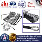 """Black 1/4"""" x 50' 7000 LB Synthetic Line Winch Rope Line Cable For car ATV UTV US"""