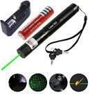 10Miles Laser Pointer Lazer Pen Visible Beam Green Light w/18650 & US Charger