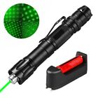 1 Sets 50Miles 2in1 Blet Clip Green Laser Pointer 532nm Visible+Battery+Charger