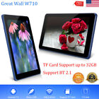 """7.0"""" HD LCD Google Tablet PC Android 7.0 1+8GB Dual Camera WIFI BT Quad Core TF"""