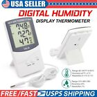 Digital LCD Indoor/Outdoor Thermometer Hygrometer Meter Temperature Humidity