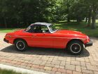 1980 MG MGB Convertible 1980 MG MGB 4 Speed Red Must See!!
