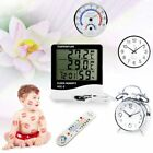 Temperature/Humidity Meter Alarm Clock Thermometer/Hygrometer LCD Display