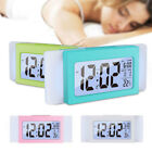 Digital LED Snooze Alarm Clock Time Temperature Mode  Backlight Light Control