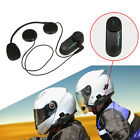 BT Intercom 1000m Bluetooth Motorcycle Helmet Interphone Headset EU/US/AU Plug