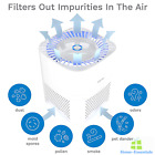 3 In 1 Ionic Air Purifier With HEPA Filter Ionizer Portable Mini Cleaner Quiet