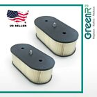 2xGreenR3 Pre-motor Air Filters Lawn Mowers / Trimmers For Kawasaki 11013‐7031