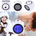 1pc Digital Alarm Multifunction With Voice Talk LED Projection Temperature TMS
