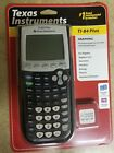 TEXAS INSTRUMENTS TI-84 PLUS BLACK GRAPHING CALCULATOR , NEW IN BOX