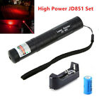 JD851 Military High Power Red Laser Pointer Pen - Battery & Charger
