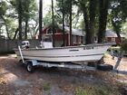 17ft Stumpnocker Fishing Boat w/ Johnson 75 stinger motor