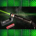 303 Green Tactical Laser Pointer Lazer Pen Visible Beam Light+18650+Charger