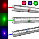3PCS 50Miles 900 Green+Blue+Red Laser Pointer Lazer Pen Visible Beam Light USA