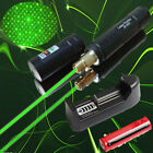 JD851 Laser Pointer 1mw 532nm 16340 Battery + Rechargeable Green Laser +Battery