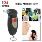 Portable Alcohol Tester Electronic Breathalyzer LCD Digital Police Breath Tester