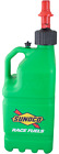 Sunoco Racing Green 5 Gallon Utility Jug w/ Fastflo Lid w/ Vehicle Tank Adapter
