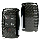5 Buttons Carbon Fiber Remote Key Cover Case Shell For Land Range Rover