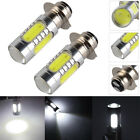 2Pack White 6000K H6M P15D COB LED Headlight Bulbs For ATV Motorcycle Top Seller