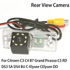 HD Car Rear View Reverse Parking Camera for Citroen C3 C4 B7 Grand Picasso C5 RD