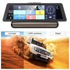 """10"""" Car DVR Camera Android Video Recorder Dual Lens GPS Navigation Dashcam SL*"""