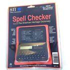 WP-1101 SII Seiko Spell Checker 26 Metric Converter EZ-learn It Crossword Helper