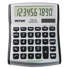 VICTOR Portable Calculator,LCD,10 Digits, 1100-3A