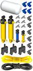 Lego Pneumatic AIR TANK KIT 4 (cylinder,mini,pump,tube,hose,switch,valve,piston)