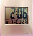 Sharper Image Digital Clock Thermometer Calendar # 1144 u